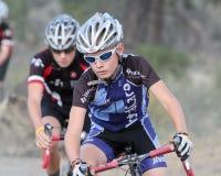 Corredor menor de Cyclocross Foto de archivo
