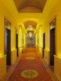 Corredor ou corredor interno do restaurante Fotografia de Stock