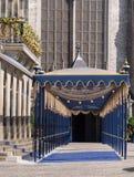 Corredor real para a inauguração do rei holandês Imagens de Stock Royalty Free