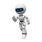 Corredor robótico do homem Imagens de Stock Royalty Free