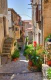 Corredor. Scalea. Calabria. Itália. imagens de stock