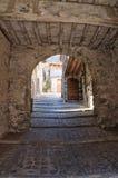 Corredor. Torre Alfina. Lazio. Itália. Foto de Stock Royalty Free