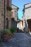 Corredor. Torre Alfina. Lazio. Itália. Fotos de Stock