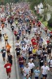 Corredores da cidade da raça urbana 2007 de Malaga Imagens de Stock Royalty Free
