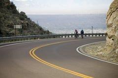Corredores de la bicicleta imagenes de archivo