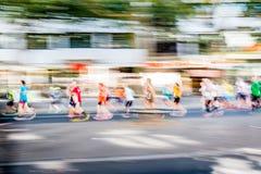 Corredores de maratón Fotografía de archivo libre de regalías