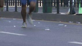 Corredores de maratón metrajes