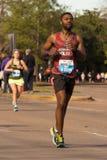 Corredores 2015 de maratón de Houston Fotografía de archivo