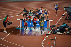Corredores em Olympics de Beijing Fotos de Stock Royalty Free