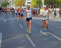 Corredores en Berlin Marathon Imagen de archivo libre de regalías