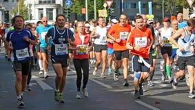 Corredores en Berlin Marathon 2012 Fotografía de archivo