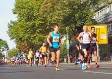 Corredores en Berlin Marathon 2014 Imagenes de archivo