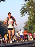 Corredores en el maratón 2010 del mumbai Fotos de archivo libres de regalías