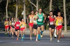 corredores 10K Foto de Stock Royalty Free