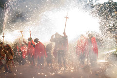 Correfoc Stock Photos