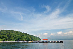 Corregidor port. In the Philippines Royalty Free Stock Photography