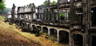 Corregidor-Ruinen Stockbild