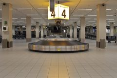 Correia da bagagem Foto de Stock