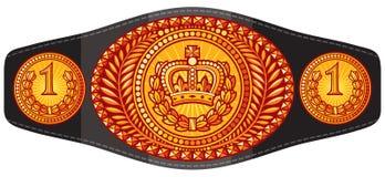 Correia de campeão ilustração royalty free