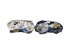 Correia de couro das calças de brim Foto de Stock Royalty Free