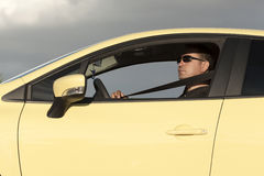 Correia de segurança do carro Fotografia de Stock Royalty Free