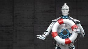 Correia de vida do robô ilustração stock