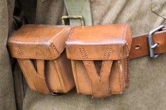 Correia militar Imagem de Stock Royalty Free