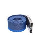 Correia rolada azul Fotografia de Stock