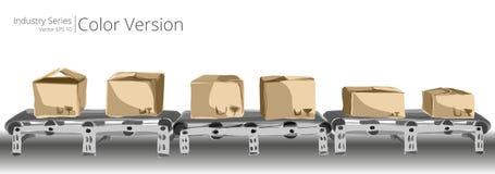 Correia transportadora ilustração stock