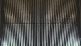 Correia transportadora da escada rolante filme
