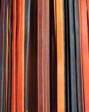 Correias de couro Fotografia de Stock