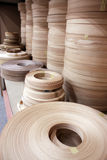 Correias de madeira da mobília Imagem de Stock