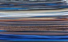 Correias em cores diferentes Imagens de Stock