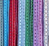 Correias handicrafted coloridas Fotos de Stock