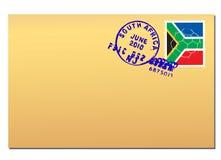 Correio de África do Sul ilustração stock