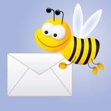 Correio do `s da abelha ilustração do vetor