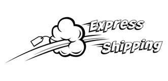 Correio expresso Imagem de Stock