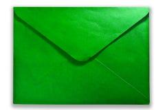 Correio verde Fotos de Stock Royalty Free
