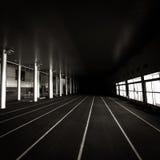 Correndo allo sconosciuto Fotografia Stock