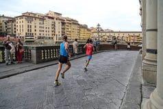 Correndo em Florença, Itália Imagens de Stock