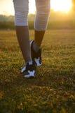 Correndo nella mattina Fotografie Stock Libere da Diritti