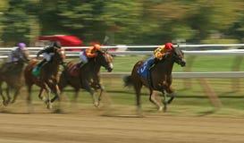 Correndo per la vittoria Fotografie Stock