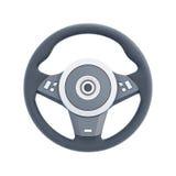 Correndo ruota isolata su fondo bianco 3d rendono i cilindri di image illustrazione di stock