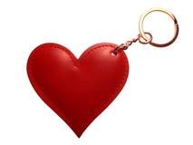Corrente chave do coração Fotos de Stock