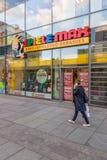 "Corrente das lojas de brinquedos ""Spiele máximo"" Fotografia de Stock Royalty Free"