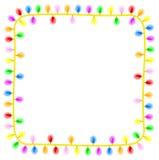 Corrente das luzes Imagens de Stock Royalty Free