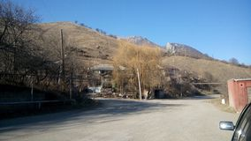 Corrente de montanha em Lori arménia Imagens de Stock