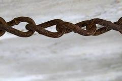 Corrente de relação oxidada velha Imagem de Stock