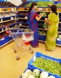 Corrente de varejo da fruta, do vegetal e do mantimento Foto de Stock Royalty Free