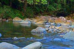 Corrente del fiume Immagine Stock
